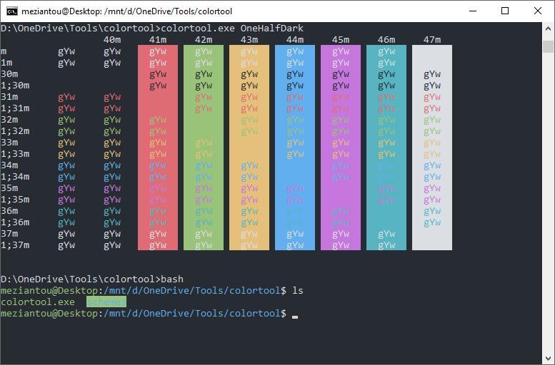 Change the colors of the Windows console - Meziantou's blog
