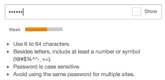 Help users create good passwords - Meziantou's blog