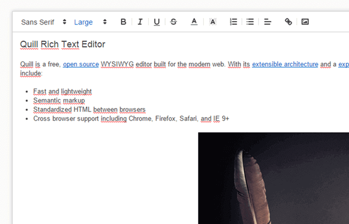 Rich text editor in HTML and JavaScript - Meziantou's blog