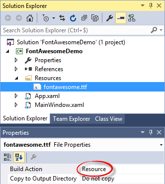 Using FontAwesome in a WPF application - Meziantou's blog