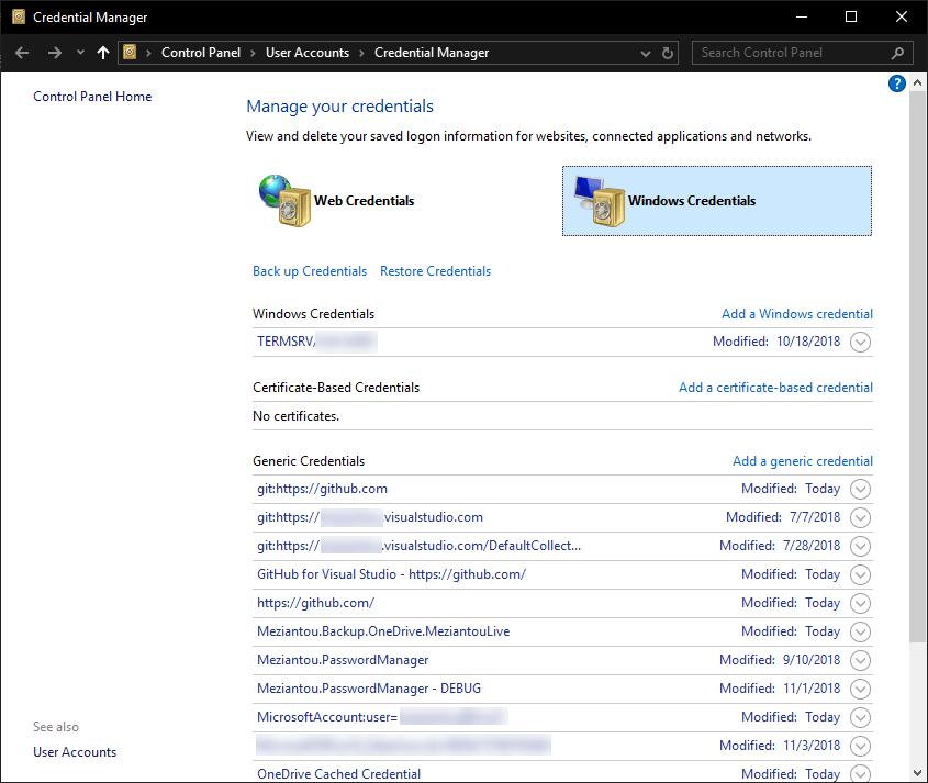 How to store a password on Windows? - Meziantou's blog